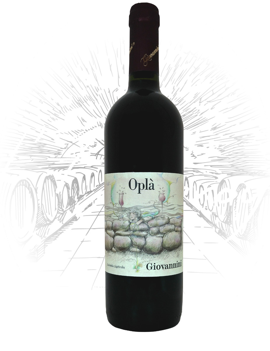 bottiglia Sangiovese Igp Opla Vini Giovannini Imola
