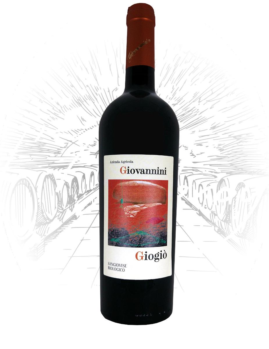 bottiglia sangiovese secco Giogio vini giovannini imola