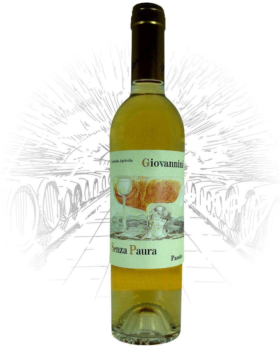 bottiglia senza paura vino bianco passito