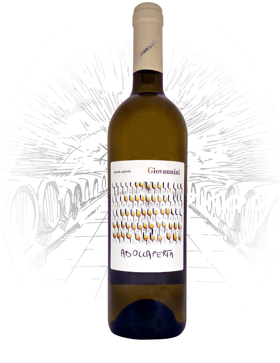 bottiglia trebbiano frizzante aboccaperta vini giovannini imola